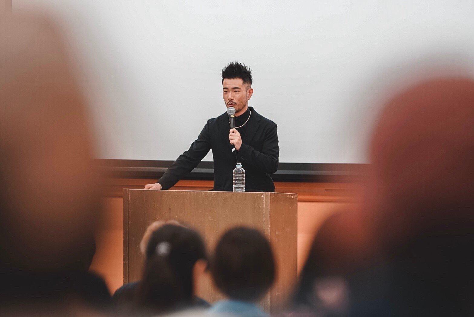 立教大学でGASHIMAがゲスト講師!! class=